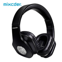 Mixcder MSH101 Bluetooth Hoofdtelefoon Over Ear Stereo Wired Wirlesss Headset Met Microfoon Voor Tv Computer Pc Android(China)
