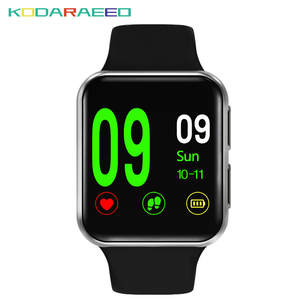 Smart Watch Men Bluetooth Smartwatch Woman Heart Rate Monitor Fitness Tracker I69 Wristwatch Android Pedometer Remote Camera