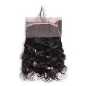 Image 5 - DURCH Körper Welle Bundles Mit 360 Spitze Frontal Verschluss Brasilianische 360 Spitze Frontal Mit Bundles Menschliches Haar Bündel Remy Haar erweiterung