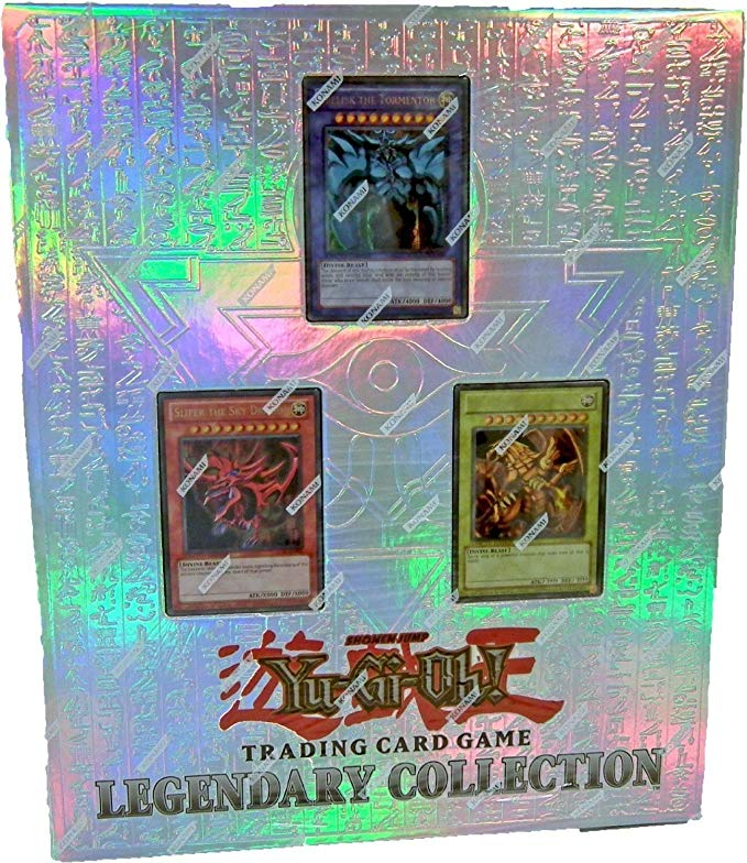 Yu-Gi-Oh Game King Of Chaos Power Legend Series 10th Anniversary Special Pack With Egyptian Style Ring Binder