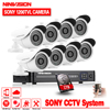 1080P Video Surveillance System 8CH CCTV Security Kit 8PCS 1080P Security Camera Super Night Vision 8