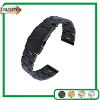 Stainless Steel Watch Band For Seiko 18mm 20mm 22mm Men Women Metal Strap Belt Wrist Loop