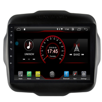 9 inch Android 9.1 full touch screen car multimedia system for Jeep Renegade 2016 2019 car gps radio navigation