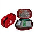 15 pcs Pacote Kit de Primeiros-socorros de Emergência de Primeiros Socorros Saco de Viagem Portátil Esportes Ao Ar Livre de Acampamento de Sobrevivência Saco Médico Tipo fora De Armazenamento