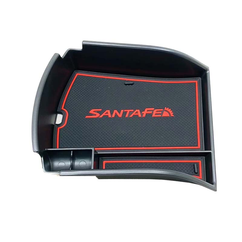For <font><b>Hyundai</b></font> <font><b>Santa</b></font> <font><b>Fe</b></font> 2019 Plastic Car Central Console Armrest Box Storage Golve Box Interior Stowing Tidying Styling <font><b>Accessory</b></font> image
