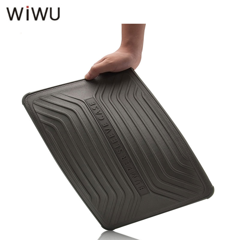 WIWU No-zipper Laptop Sleeve for Macbook Pro Air 13 15 Super Slim PVC Laptop Case for Macbook Pro 13 2017 With Keyboard Cover wiwu laptop sleeve for macbook air 13 inch water resistant pu leather case for macbook pro 13 15 inch ultra slim laptop bag case