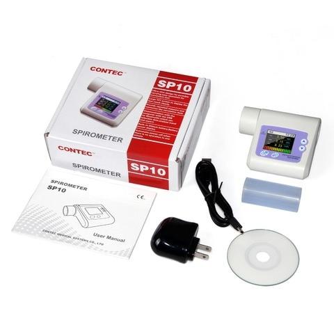 spirometro contec sp10 spirometro dispositivo de volume