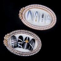 1 шт./лот новый дизайн ногтей мини модная работа дисплей Маникюр показ инструмент