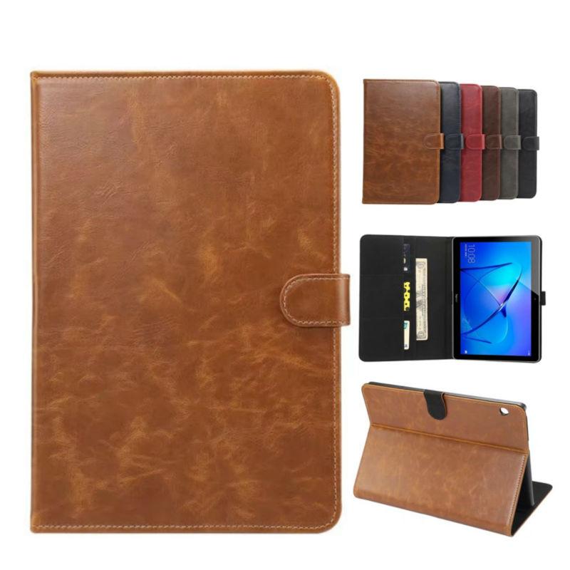 Mediapad T3 10.0 PU Leather Wallet Case Cover Fundas 9.6 inch Slim Tablet For Huawei MediaPad T3 10 AGS-L09 AGS-L03 Stand Skin gf go7300 b n a3 gf go7400 b n a3