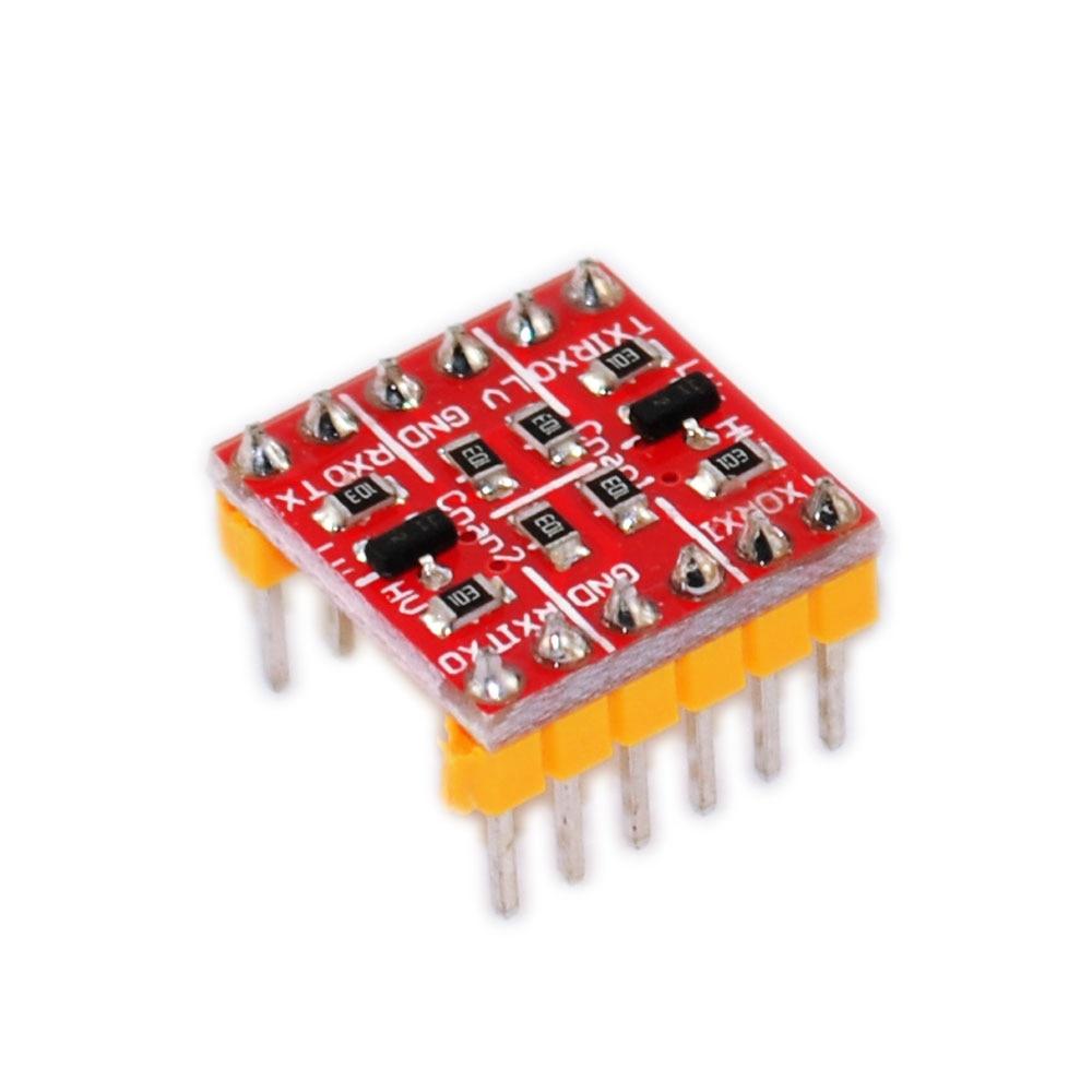 (3 шт./лот) Новый преобразователь логического уровня 3,3 В 5 в TTL двунаправленная система преобразования для электронных компонентов Arduino