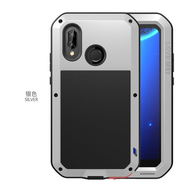 hot sale online 583cd 34583 US $26.6 5% OFF|Love mei Waterproof Metal Case For Huawei P20 Lite Case  Full Protective Cover Casing P20 Pro Powerful Cases P 20-in Fitted Cases  from ...