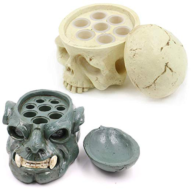 Hard Resin Make Skull Tattoo Ink Cup Cap Holder Individuality Fashion Holder Tattoo Accessories Supply Free Shipping