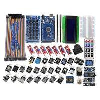 MEGA 2560 R3 Starter Kit With 40 Sensor Module Serial I2C LCD Display Gas Detector Sound