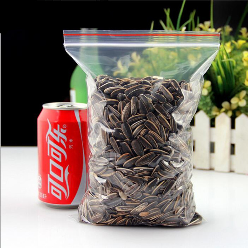 100 Pcs Lot OPP Self styled Pocket Resealable Transparent Of Plastic Packaging Bags Plastic Bags Food