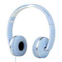 Stéréo Mains Libres Headfone Casque Audio Pliable Casque Écouteur Rose Casque Avec Micro pour Ordinateur PC Aux Chef Téléphone Ensemble