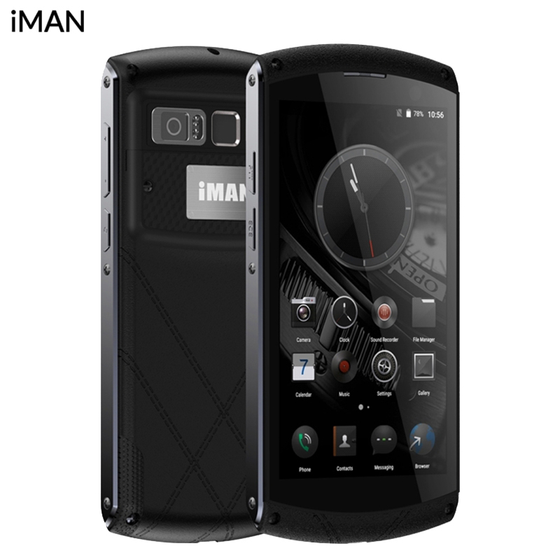 Original iMan Victor 4G Mobile Phone RAM 4GB ROM 64GB MT6755 Octa Core 5 0 inch