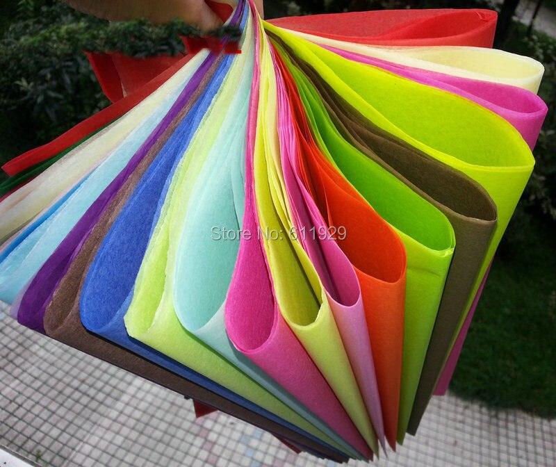 envo libre colorido de tejido de embalaje de papel de regalo boda diy papel tintoarte de pape