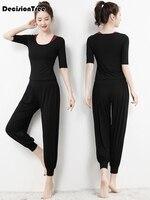 2019 fitness clothing women's one pieces sports suit set workout gym fitness jumpsuit pants yoga set bandage gym bodysu