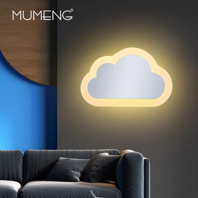 Mumeng Modernes Design Led Wandleuchte Acryl Wandleuchte