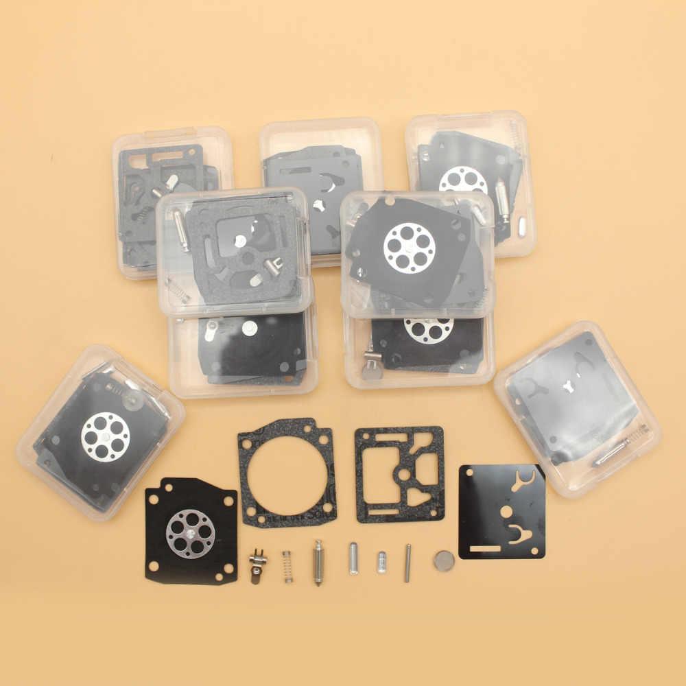 10 шт./лот карбюратор капитальный ремонт комплект для HUSQVARNA 353 350 346XP 345 e 340 EPA zama RB 122 RB122 цепная пила