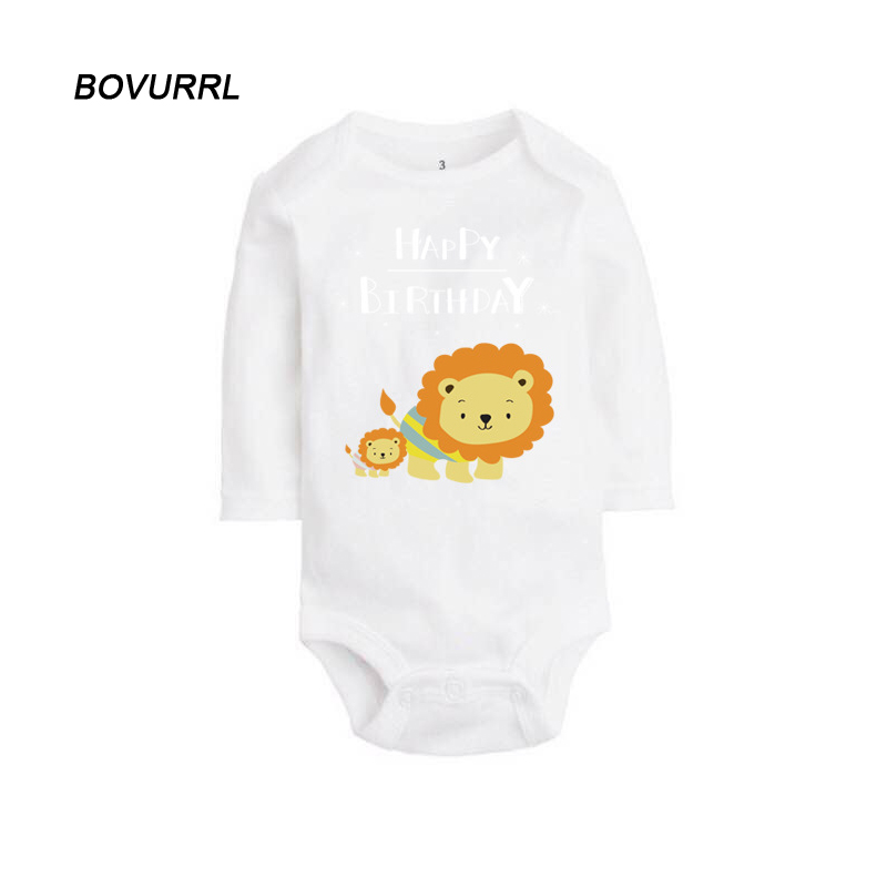 BOVURRL New Arrival Baby Bodysuit Infant Jumpsuit Overall Long Sleeve Body Suit Baby Clothing Set Autumn Spring Cotton in Bodysuits from Mother Kids
