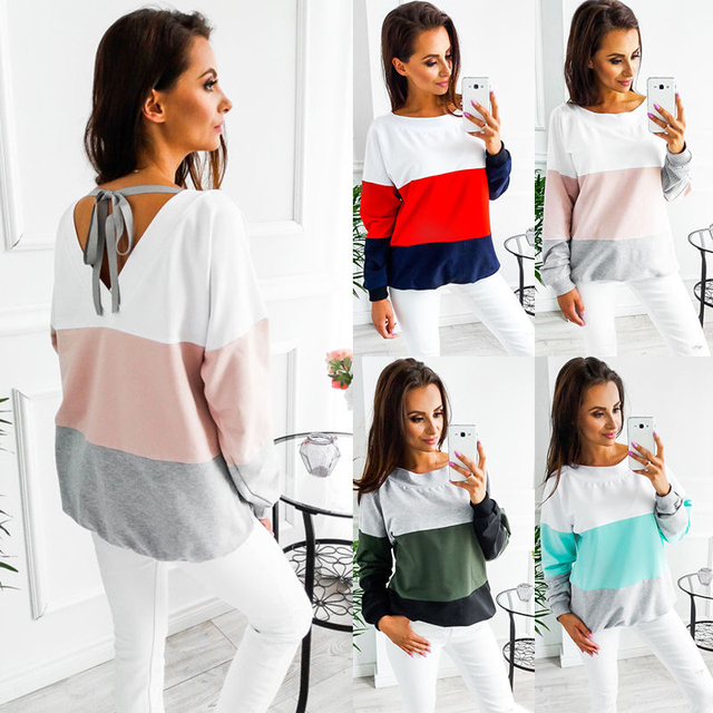 affa482b7ab6 Female T-shirt Plus Size Vogue Women Tops Autumn Lady s Clothes Long Sleeve  Top for Maternity Clothing for Pregnant Women