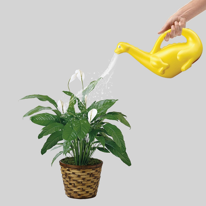 Cartoon Animal Shape Gardening Watering Can Watering Flower Pot Random Color Style Water Cans Animal Shape Watering Pot