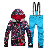 2018 New Special Offer Women Winter Snowboard Jacket Hot Sale Lady Ski Suit Clothes Sets Pants