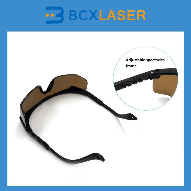 Laser Goggles protective glasses for laser machine safety 800nm 1700nm od4 900nm1100nm od5 laser protective goggles safety glasses 52