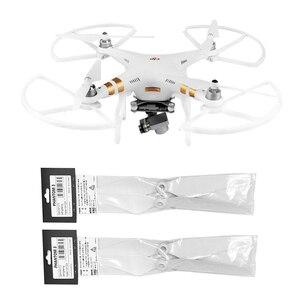 Image 1 - 4 stücke 9450 Propeller und Requisiten Protector für DJI Phantom 3 Drone Teile Schnelle Release Klinge Flügel Schutz Stoßstange Requisiten kits