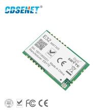 SX1278 868MHz 1W SMD ไร้สาย CDSENET E32 868T30S 868 mhz SMD หลุมแสตมป์ SX1276 ยาวเครื่องส่งสัญญาณและตัวรับสัญญาณ