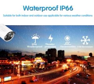 Image 2 - 8 sztuk wodoodporna kamera typu bullet 5MP bezpieczeństwa w domu kamery IP 8CH netto DVR System Poe CCTV zestaw do nadzorowania czarny darmowa