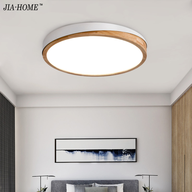 AC85-265V LED Ceiling Lights Nordic Style Round Ceiling Mounted Lamp ...