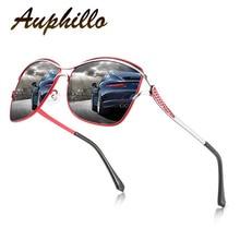 AUPHILLO Oversized Sunglasses Luxury Brand Women Polarized Metal Frame Gradient Lens Fashion Vintage 0215