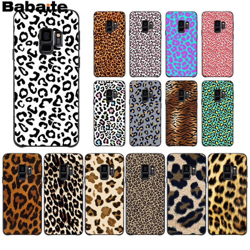 Babaite Fashion Tiger Macan Tutul Cetak Panther Baru Ponsel Case Samsung S9 S9 Plus S5 S6 S6edge S6plus S7 S7edge S8 s8plus M10 20
