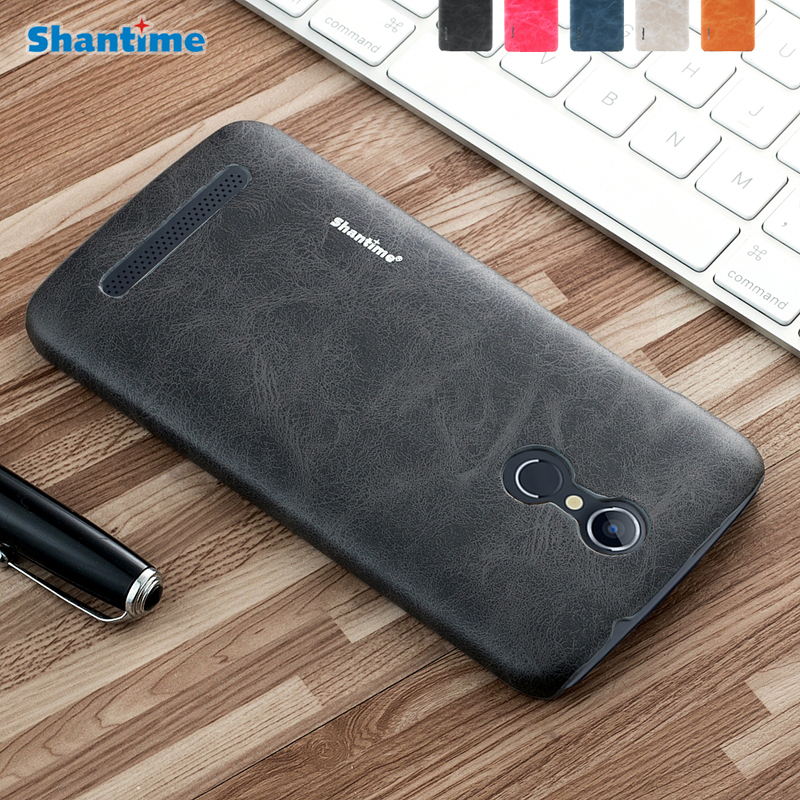 For Homtom HT17 Luxury PU Leather Back Cover Case For Homtom HT 17 pro 5.5 Leather shell