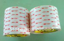 100% Оригинал 3 М VHB 4920 два лица акриловый клей, ленты/высокая клейкая лента/он может использовать в открытый или крытый/12 мм * 33 М