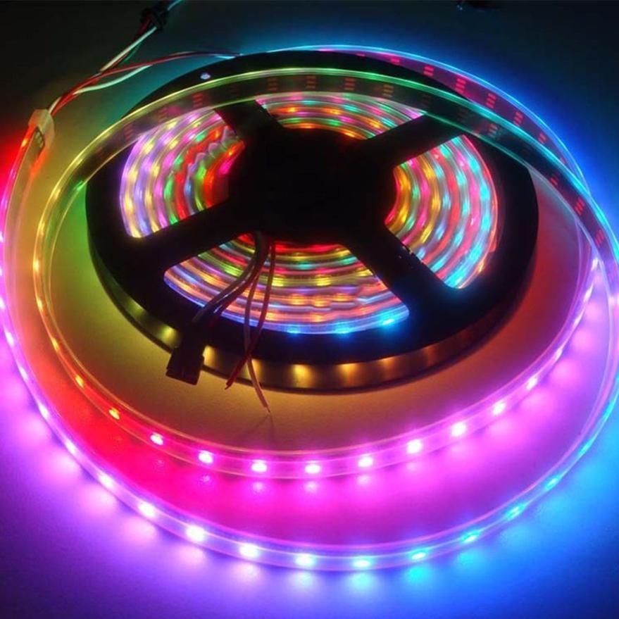 2017 5M 5050 SMD RGB Flexible Strip LED Light Muti color 12V 300 led Lamp