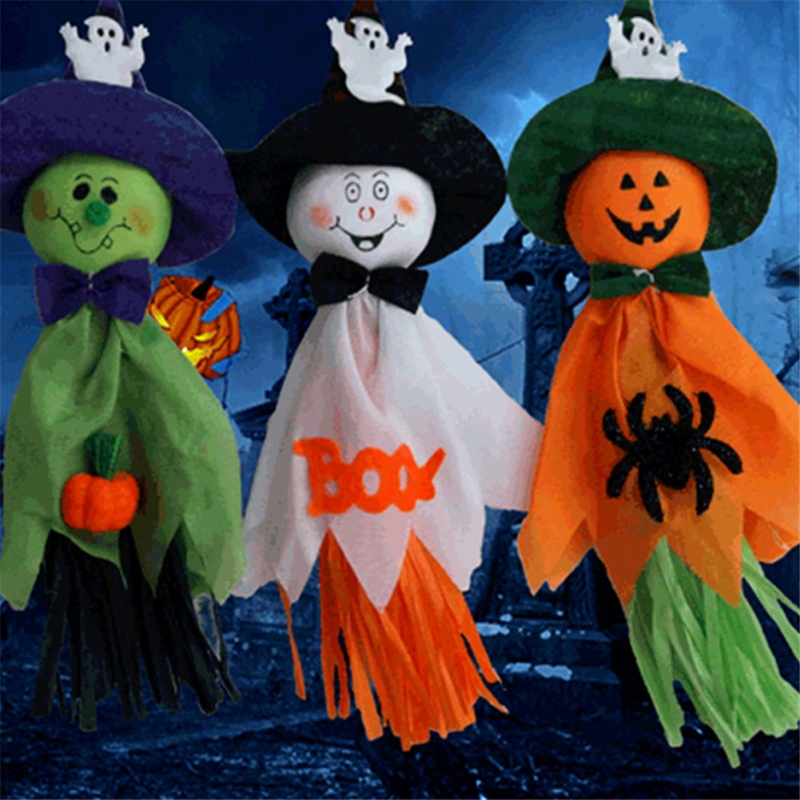 hot sale new halloween ghost hanging decorations indoor outdoor halloween party decoration vqw0087china - Outdoor Halloween Decorations On Sale