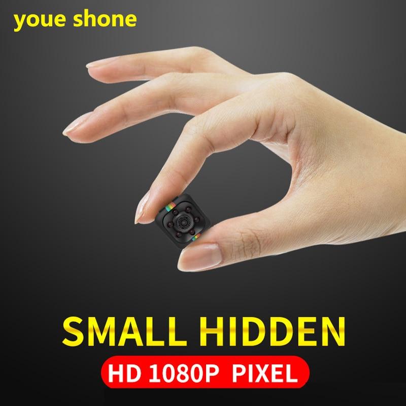 youe shone New style 1080P Small Mini Camera 12MP Infrared Night Vision HD SQ11 Sport Digital Micro kamera endoscope cameras