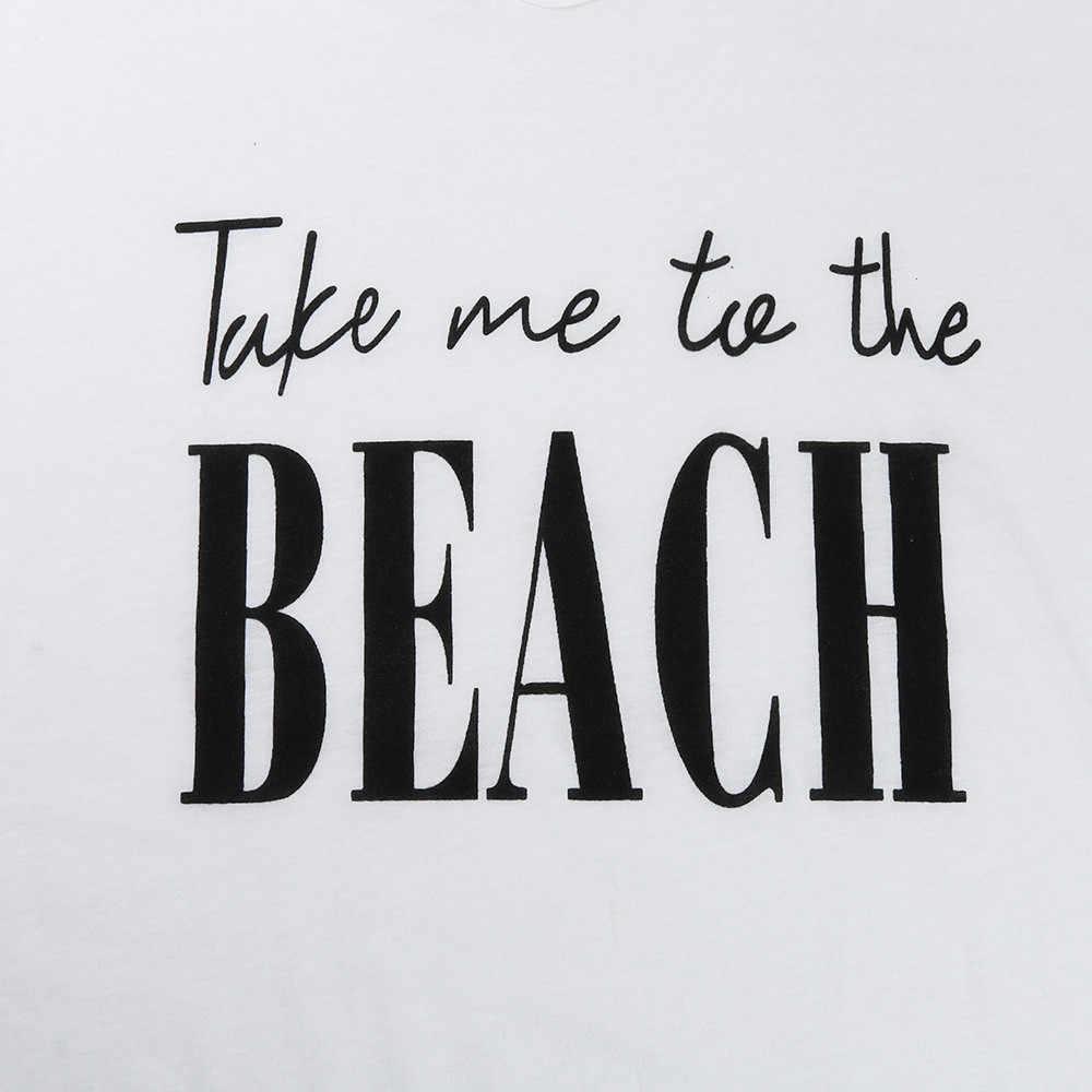 Delle donne Della Nappa Lettere di Stampa Costumi Da Bagno di Occultamento del Bikini del Vestito Dalla Spiaggia del capo per un costume da bagno beach cover up saida de praia feminino 2019