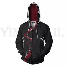 Men and Women Zip Up Hoodies Gwenom Spiderman 3d Print Hooded Jacket Mravel 4 Movie Superheroes Sweatshirt  Streetwear Costume цены