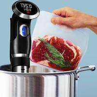 EU/US Plug 1500W Vacuum Slow Food Cooker Immersion LCD Control Panel Steak Cooking Machine