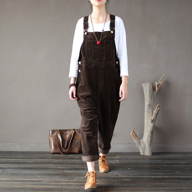 Warm Pocket Casual Jumpsuit