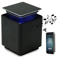 Portable Bluetooth Speaker Screen Magnetic Levitation Up Down Switch Touch Floating Rotating LED MusicBox Subwoofer Speaker