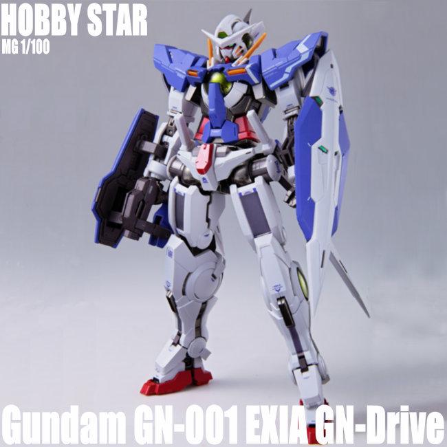 HOBBY STAR HS Gundam MG 1/100 GN 001 EXIA GN Drive figuras de Anime figuras de acción modelos de Juguetes-in Figuras de juguete y acción from Juguetes y pasatiempos on AliExpress - 11.11_Double 11_Singles' Day 1