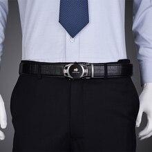 Men's Belt – Automatic Buckle Genuine Leather Belts