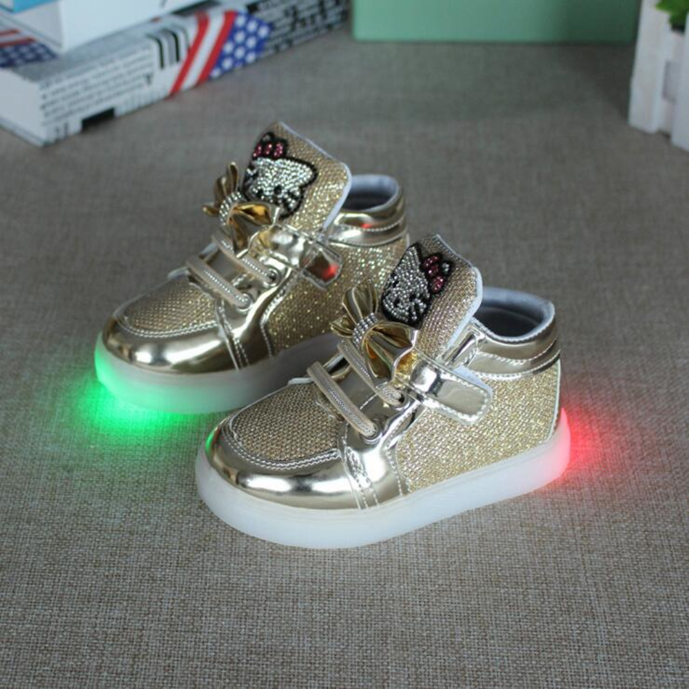 Altman Bersol Lembut Lampu Berkedip Anak Laki Sepatu Jala Thomas Banjiro T Sekolah Hot Perempuan Olahraga Lari Bayi Bercahaya Mode Sneakers Balita