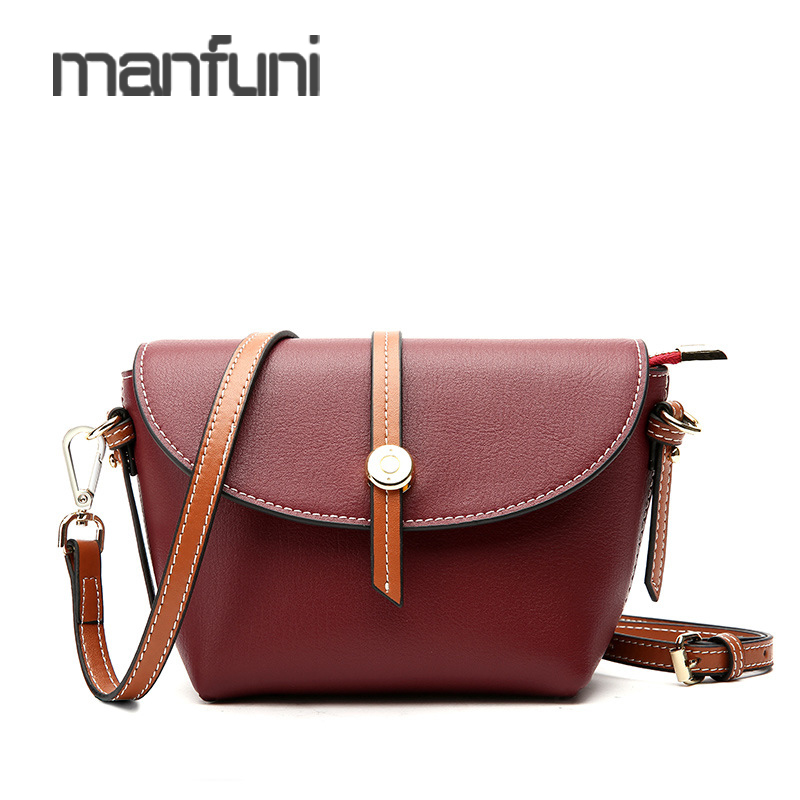 189663a48ed6 Mini Small Shell Messenger Bag Womens Cow Leather Crossbody Bags For Women  High Quality Fashion Genuine Shoulder