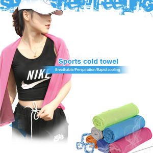 Image 5 - Cooling Towel, Ice Cold Sports Sweat Towel Fitness and Sports Cool Towel Scarf, Absorbent, Fast Drying, Rapid Cooling 30 x120cm